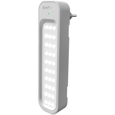 Imagem de Kit 5 Lâmpadas Luminárias De Emergência 30 Leds 1w Recarregável Bivolt - Intelbras LEA 150