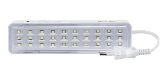 Imagem de Kit 5 Luminária De Emergência Autônoma De Led 30l Intelbras