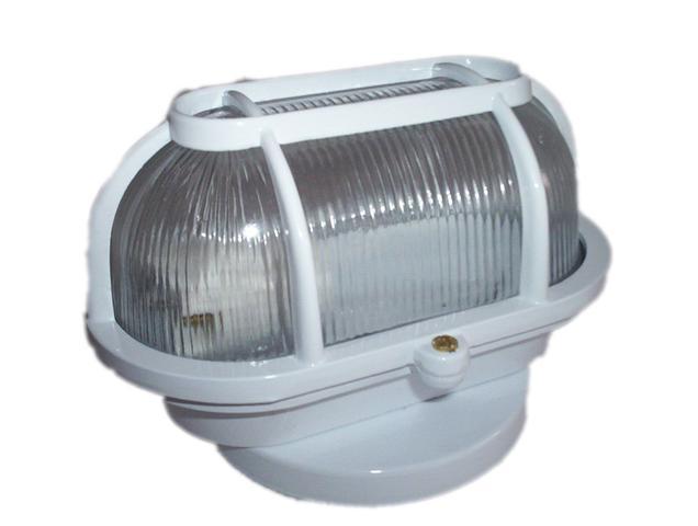 Imagem de Kit 5 Luminaria FM cod 501 Tartaruga balizador de Alumínio  Branco