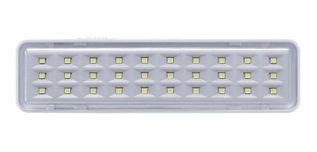 Imagem de Kit 5 Luminárias Emergência Intelbras Emergência 30 Leds