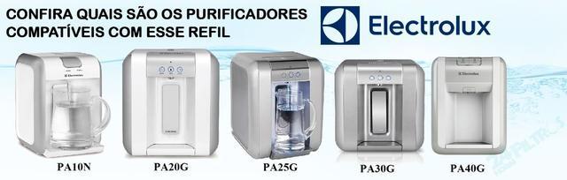 Imagem de Kit 5 Refil Filtro Purificador Água Electrolux PA10N PA20G PA25G PA30G PA40G