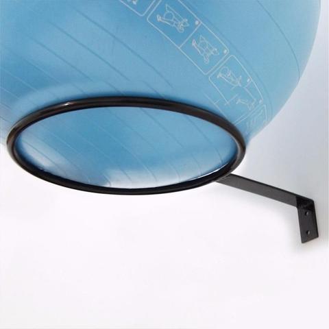 Imagem de Kit 5 Suportes Parede Reforçado Kl Master Fitness Bola Suiça