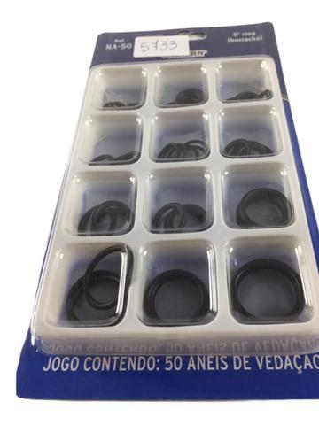 Imagem de Kit 50 Anel Aneis Vedação Borracha Variados Na-50