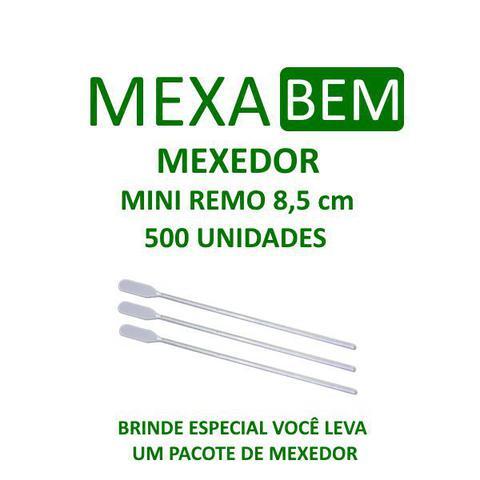 Imagem de Kit 500 açúcar sache 5g Guarani +500 Mexedor 8,5cm Café Suco