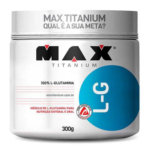 Imagem de Kit 5x L-Glutamina 300g (1,5kg) - Max Titanium