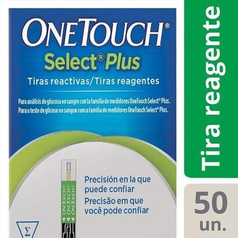 Imagem de Kit 6 Caixas Tiras Onetouch Select Plus 50 Unidades
