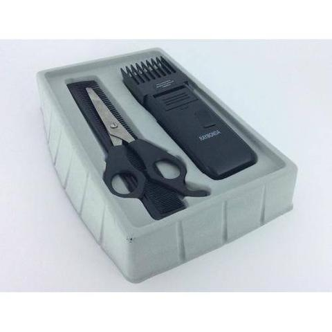 Imagem de Kit 6 Maquinas De Cortar Cabelo Aparar Barba Rifeng Mega Premium