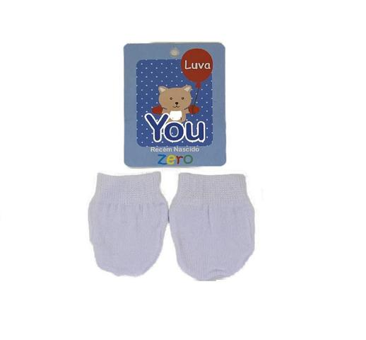 Imagem de Kit 6 pares luvinhas para bebe infantil recem nascido luva