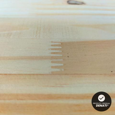 Imagem de KIT 6 Prateleiras Estante 60x20 Madeira Painel Pinus Nicho Quarto Sala + Suporte Invisível