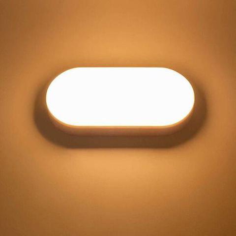 Imagem de Kit 7 Arandela Luminaria Tartaruga Led 15w Luz Quente Galaxy