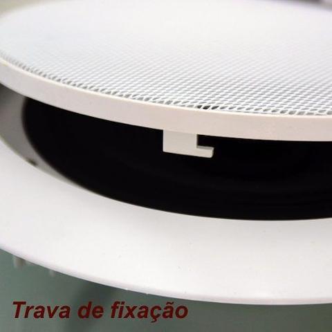 Imagem de Kit 8 Caixas Acustica Teto Musica Som Ambiente Arandela