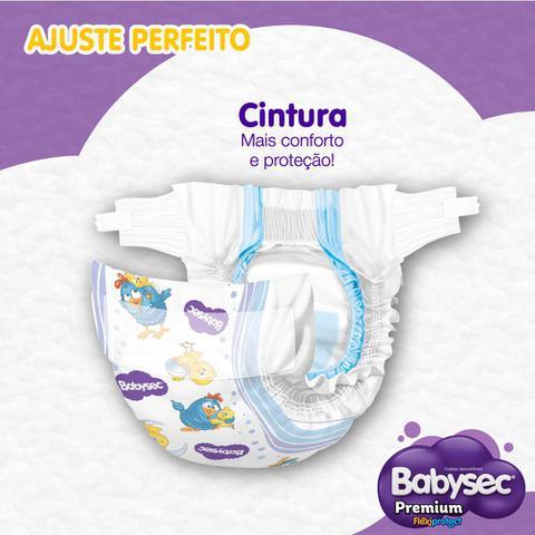 Imagem de Kit 8 Fralda BabySec GALINHA PINTADINHA Premium - P - 160 unids - Experimente e se Surpreenda