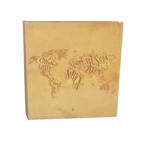 Imagem de Kit Álbum Mega 500 fotos 10x15 Mundo + Refi de folhasl Ical