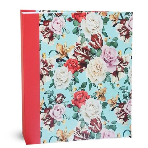 Imagem de Kit álbum mega 500 fotos + refil 100 fotos ical rosas