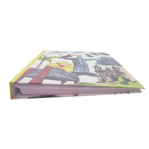 Imagem de Kit Álbum Mega Cristo 500 Fotos e Refil 100 Fotos Ical