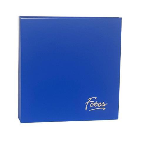 Imagem de Kit Album Mega Ferr 1000 Fotos Ical Azul