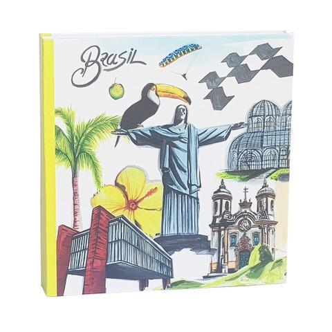 Imagem de Kit Album Mega Ferr 1000 Fotos Ical Brasil Cristo