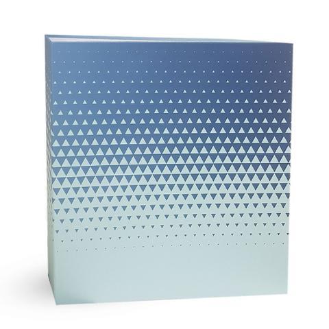 Imagem de Kit Album Mega Ferr 1000 Fotos Ical Degrade Azul
