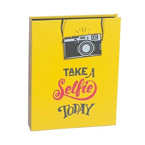 Imagem de Kit Álbuns Folha preta 160 fotos Take Selfie e Click