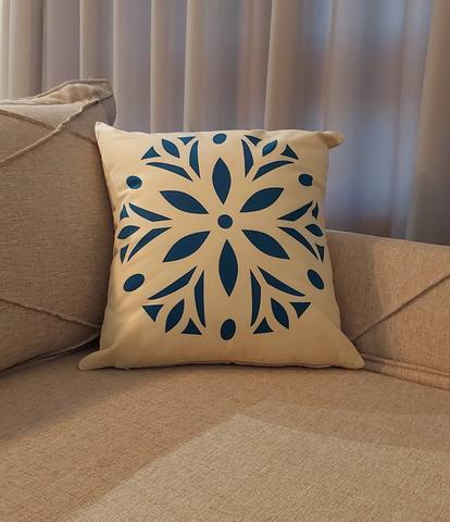 Imagem de Kit Almofada Decorativa Estampada