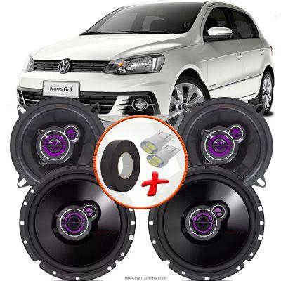 Imagem de Kit Alto Falante Pionner Volkswagen Gol G7 Ts-1360br + TS-1760BR 5X6
