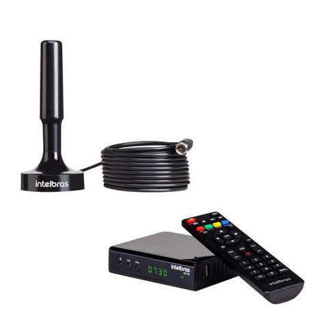 Imagem de Kit Antena De TV Digital AI 2031 + 1 Conversor Digital CD 730 Intelbras