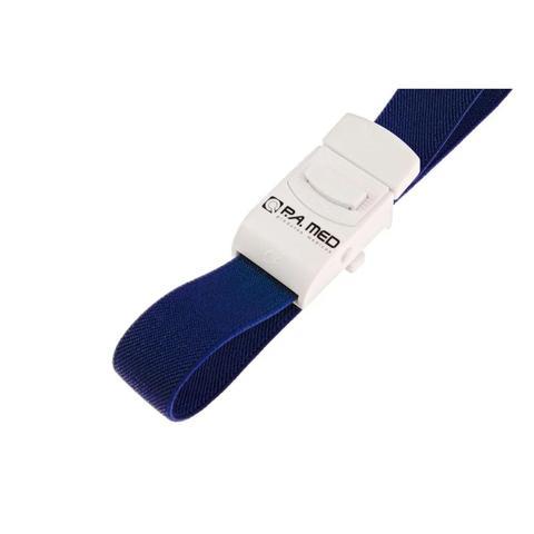 Imagem de Kit Aparelho De Medir Pressão + Esteto + Garrote + Oculos P. A Med Cor Azul