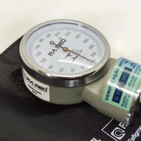 Imagem de Kit Aparelho De Medir Pressão + Esteto Rappaport Pamed Cores