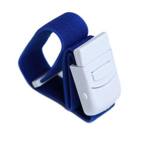 Imagem de Kit Aparelho Medidor de Pressão + Aparelho de Medir Glicose Lite G-Tech + Termômetro + Garrote Azul