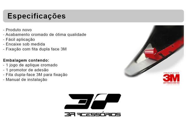 Imagem de Kit aplique chevrolet corsa 2002 até 2012 montana retrovisor + maçaneta