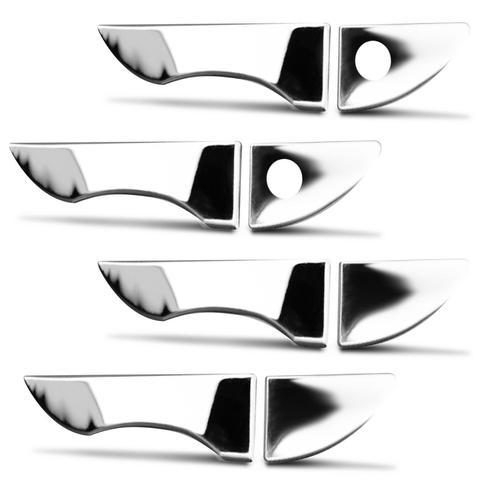 Imagem de Kit Aplique Maçaneta Corolla 2015 a 2019 Cromado 4 Portas Fácil Aplicação