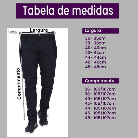 Imagem de Kit Atacado 3 Calça Jeans Masculina Skinny Com Elastano