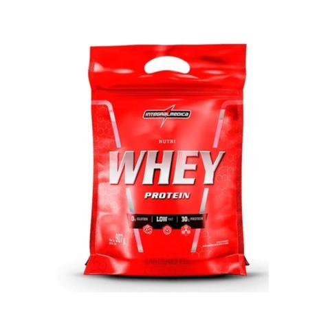 Imagem de Kit Atacado 5x Nutri Whey Chocolate 907g Whey Protein Concentrado Isolado Integralmédica