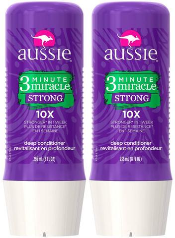 Imagem de Kit Aussie 3 Minute Miracle Strong 236ML 2 Unidade