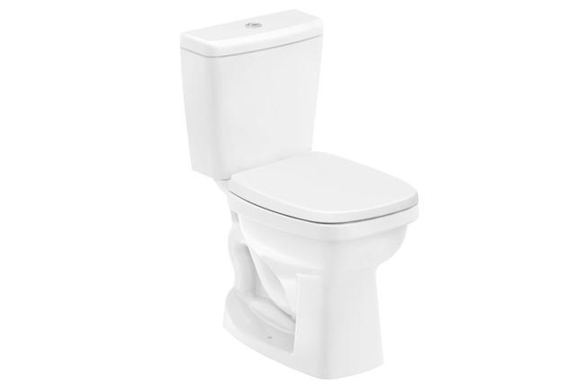 Imagem de Kit Bacia com Caixa Acoplada Like 3/6 Litros + Assento Sanitário Branco