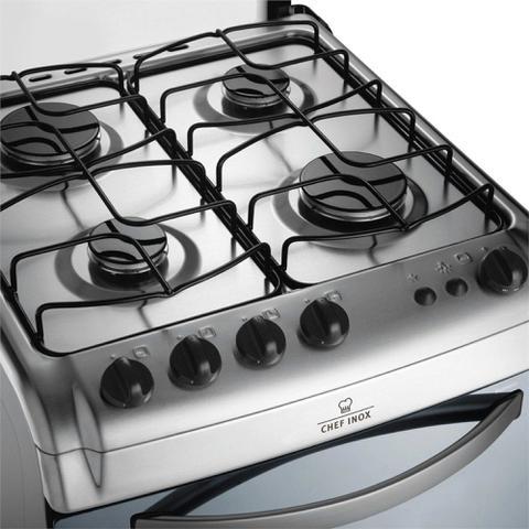 Imagem de Kit bacias + grelhas p/ fogões electrolux 4 bocas 52 sx