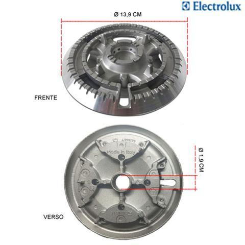 Imagem de Kit bacias para fogões tripla chama electrolux 5 bocas 76 usr