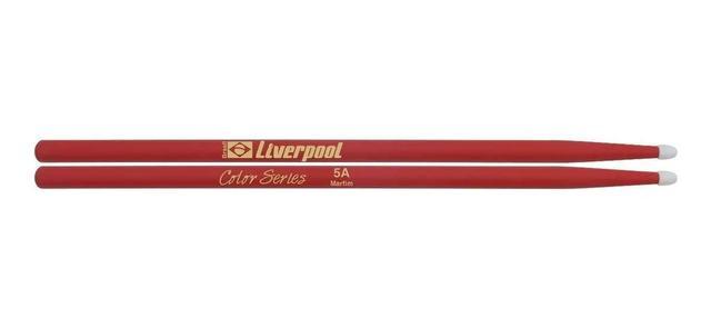 Imagem de Kit Baquetas 7A 5A Malet Feltro Lf S Liverpool