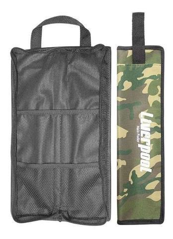 Imagem de Kit Baquetas 7A 5A Mallet Feltro e Vassourinha + Bag Com01 Liverpool