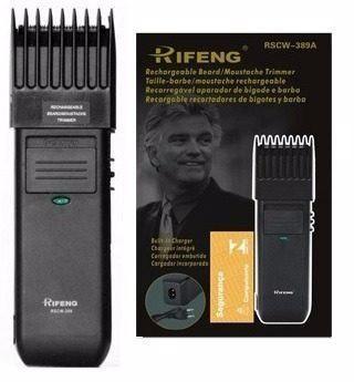 Imagem de Kit Barbeador Aparador De Pêlos Máquina Corte Rifeng Orignal