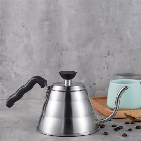 Imagem de Kit Barista Profissional Passador Para Café E Chaleira