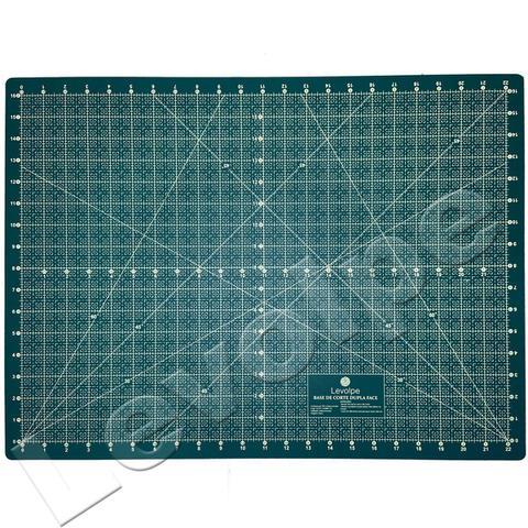 Imagem de Kit Base De Corte 60 +régua 60 +cortador Patchwork Scrapbook