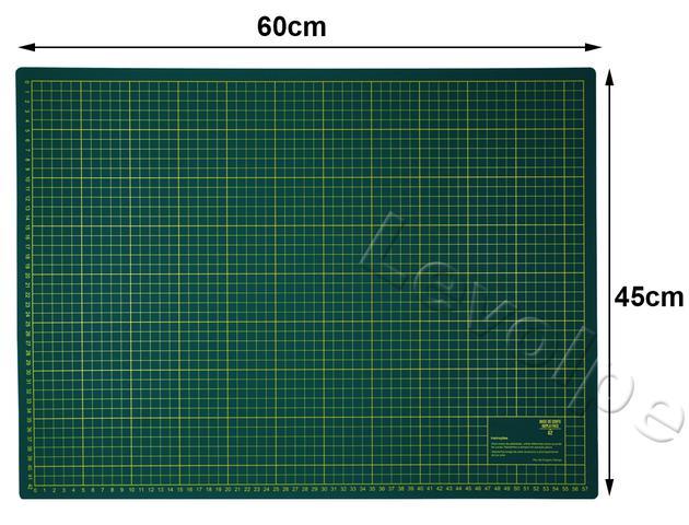 Imagem de Kit Base De Corte 60x45 + Régua 15x60 + Cortador 45mm + Prendedores