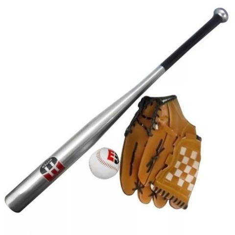 Imagem de Kit baseball-hyper wells-taco/luva/bola