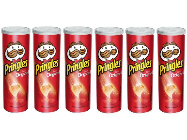 Imagem de Kit Batata Pringles Original 6 Unidades