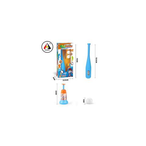Imagem de Kit beisebol infantil baseball taco lançador automatico 3 bolas conjunto esporte completo jogo criança