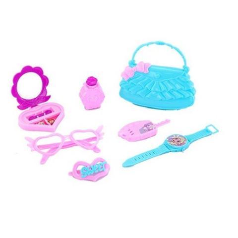 Imagem de Kit Beleza Infantil Com Bolsa E Acessorios Frozen Na Cartela
