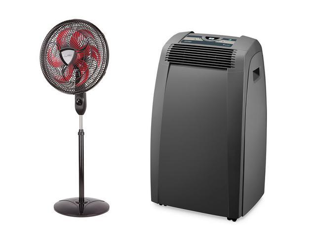 Imagem de Kit Bem Estar - Ar Condicionado Pinguino Smart + Ventilador Ultra Wind 3 em 1