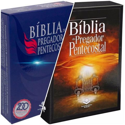 Imagem de Kit bíblia do pregador pentecostal rc  naa