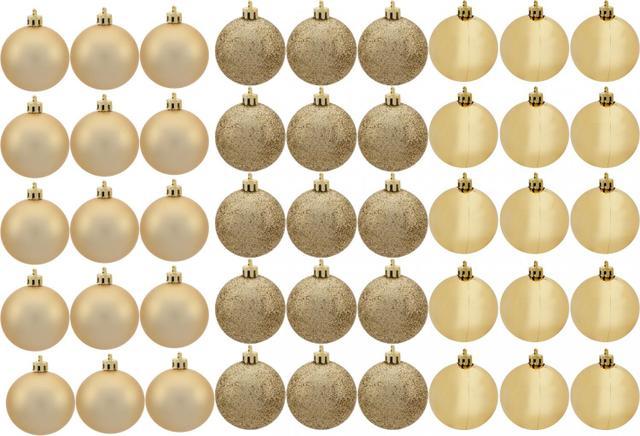 Imagem de Kit Bola de Natal Dourada NATAL074 Casambiente